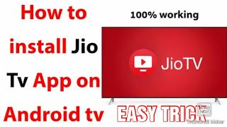 HOW TO RUN JIOTV ON ANDROID TV||EASY STEPS screenshot 3