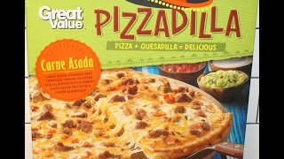 Great Value Pizzadilla: Carne Asada Review