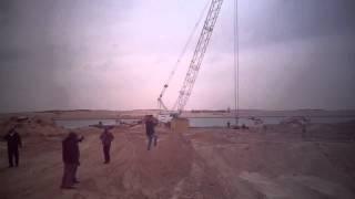 شاهد حفر وتكريك مدخل قناة السويس الجديدة والتفريعة الغربية لمنطقة