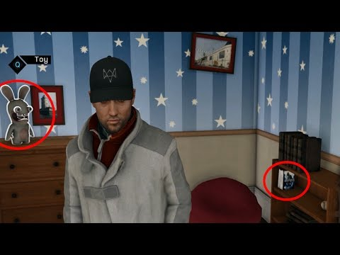 Watch Dogs - Ubisoft Easter Eggs!
