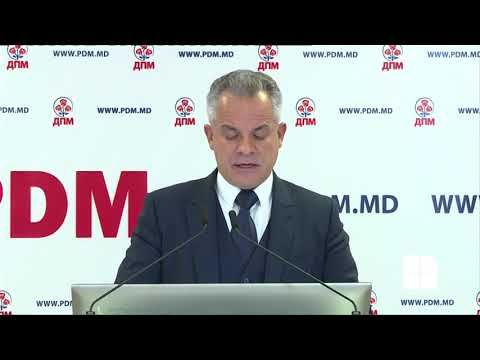Conferință de presă - Partidul Democrat din Moldova