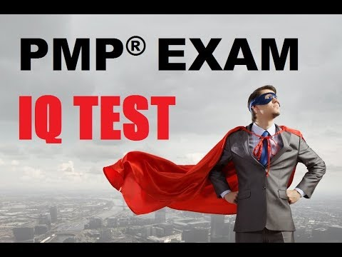pmp exam iq test pdf