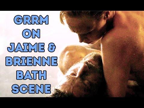 George R.R. Martin on Jaime and Brienne's Bath scene