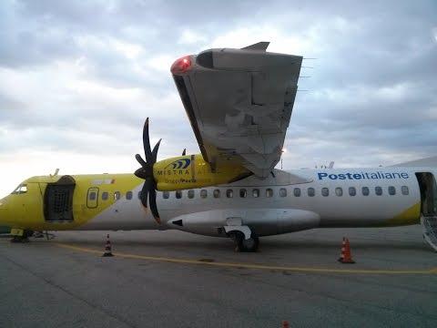 ATR 72-500 Tirana - Bari flight report *landing in snow storm*