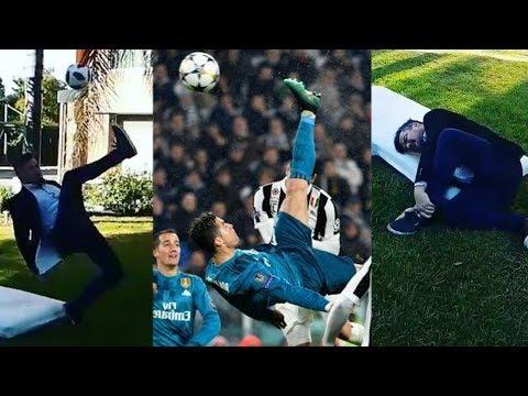 Cristiano Ronaldo Wannabe BREAKS LEG In Epic Bicycle Kick FAIL!