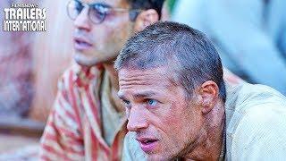 PAPILLON Trailer legendado de remake com Charlie Hunnam, Rami Malek