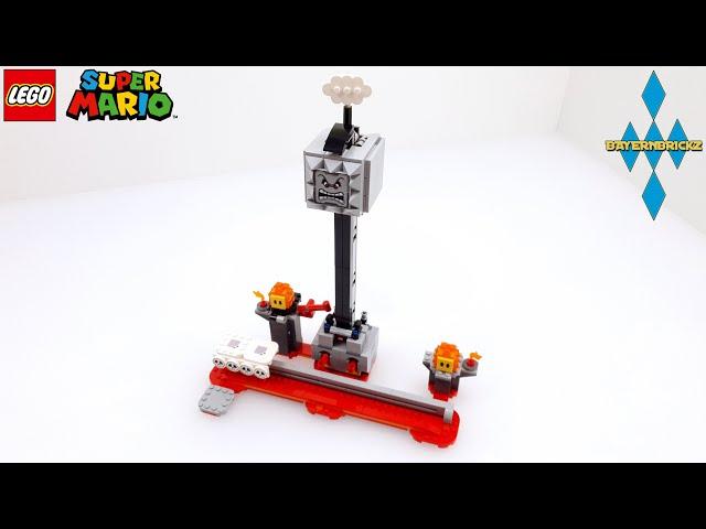 Lego Super Mario - 71376 Thwomp Drop / Fallender Steinblock + Gameplay