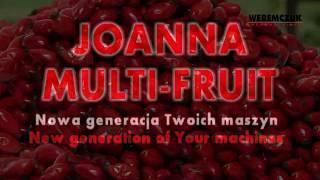 JOANNA MULTI-FRUIT - kombajn do zbioru owoców jagodowych