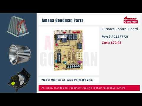 Amana-Goodman Furnace Parts   HVAC Parts and Accessories   Air