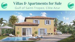 Villas & Apartments for Sale Gulf of St Tropez | AZ Italian Properties | Properties for Sale France