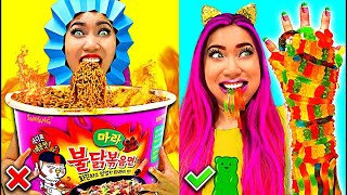 Weird Fun Hilarious Food Hacks You Should Try!!!