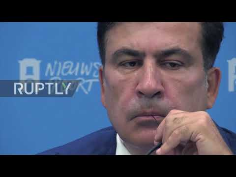 Netherlands: Saakashvili comments on MH17 downing during press conference