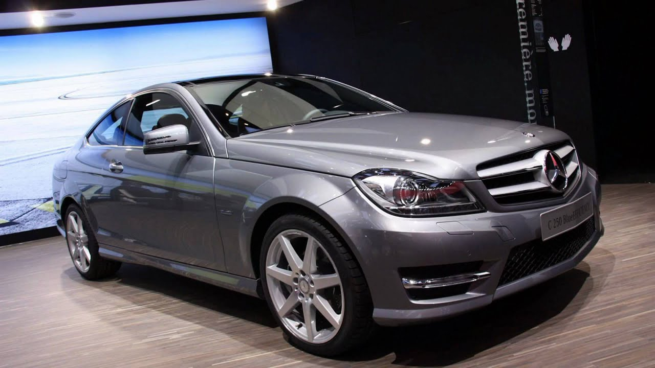 2012 mercedes benz c class coupe 2011 geneva auto show youtube. Black Bedroom Furniture Sets. Home Design Ideas