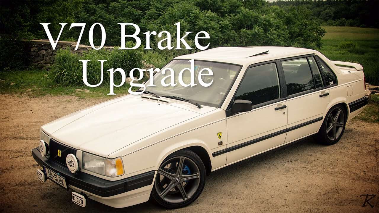 volvo 940 turbo v70 brake upgrade youtube. Black Bedroom Furniture Sets. Home Design Ideas