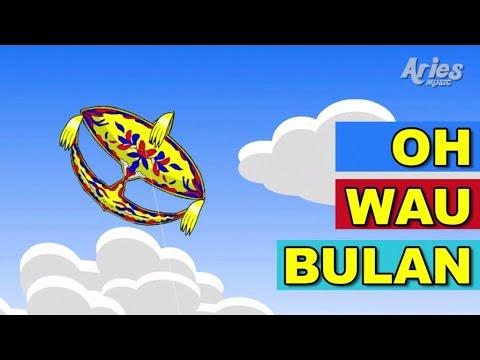 Alif & Mimi - Oh Wau Bulan (Animasi 2D) Lagu Kanak Kanak