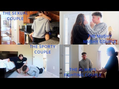 DIFFERENT TYPES OF COUPLES!! | Montana & Ryan