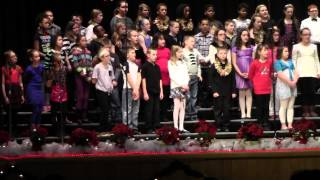 New Brighton Elementary 5th Grade Chorus Christmas Concert 12-19-13 9:30 AM