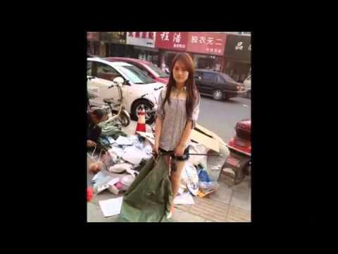 【衝撃映像】1000年に一度の「ホームレス美少女」が発見される!!!