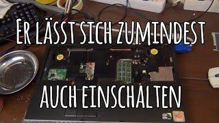 Restauration des schmutzigen 7000€ Laptops 2#   Powerschalter&Tastatur