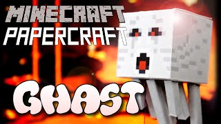 How to make a Minecraft Papercraft Ghast