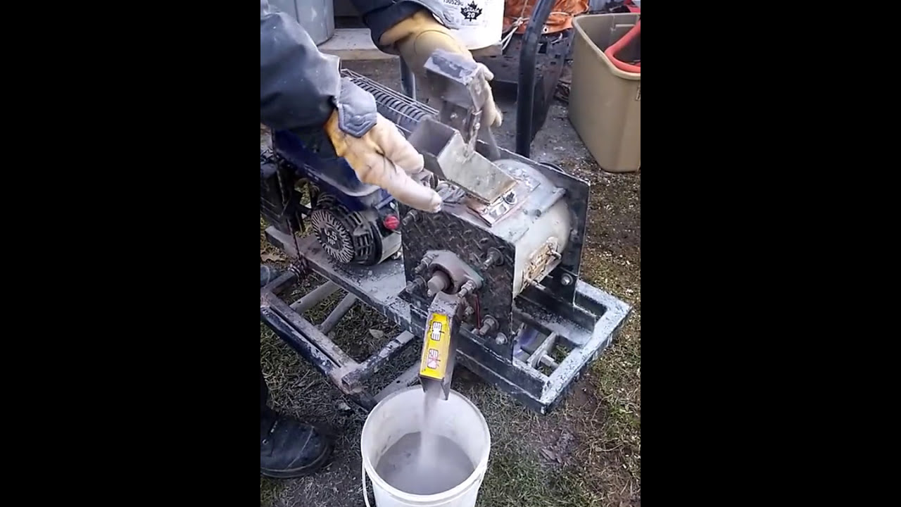 how to build a rock crusher for gold