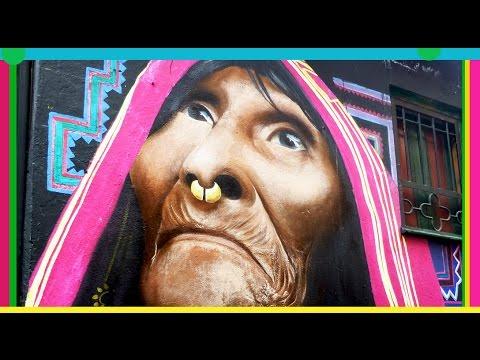 BOGOTA STREET ART / GRAFFITI / VLOG #87