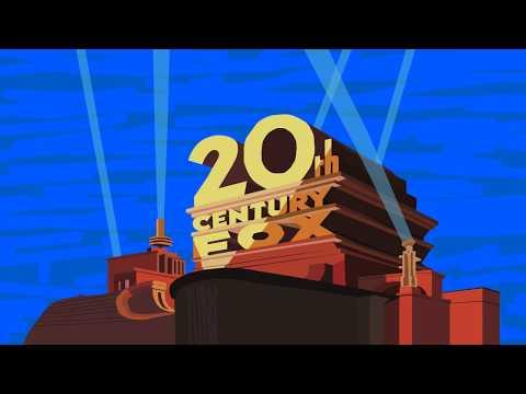20th Century Fox 1981 logo - Primitive 5/24/2013-era Flash 4 vector thing - UHD render [4K]