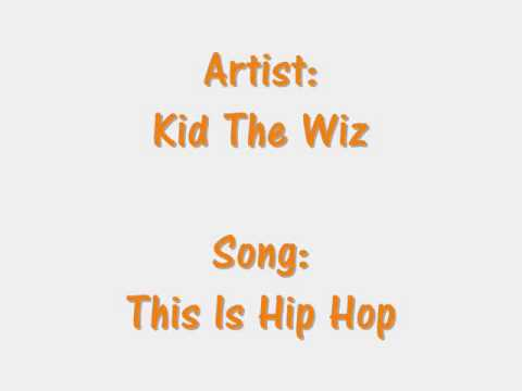 Kid The Wiz = This Is HipHop ( LiteFeet Tunes )