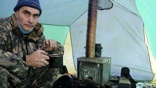 Пічка для зимової намети (рибалки).