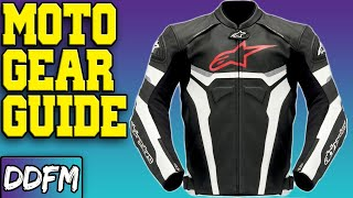 Beginners Guide to Motorcycle Gear!!