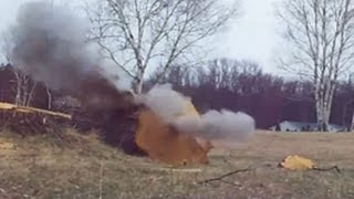 Black Powder Log Splitting
