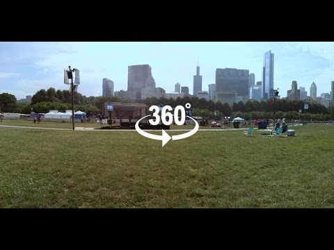 2016 Taste of Chicago - Petrillo Music Shell (Empty) 360 Video