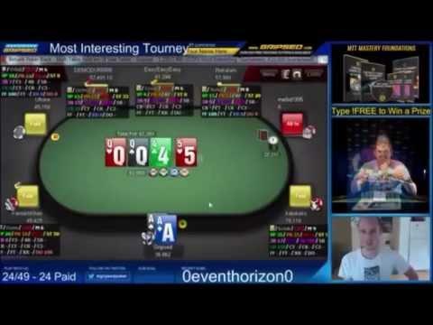 Pocket Aces NO GOOD - Universal Championship of Online Poker Highlights  - Bad Beat Central #GETREKT