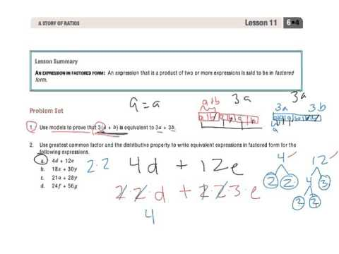 Factoring Expressions (solutions, examples, worksheets