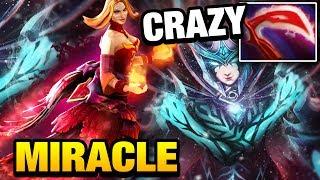 Miracle- Lina vs CRAZY PA by Badman Dota 2