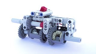 Lego Technic Compact 3 Speed Automatic Gearbox (+Instructions) - Lego Technic Mastery