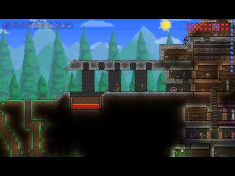 видео: terraria Оборона замка (дома)
