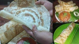 Dosa Recipe in Hindi - घरपर डोसा कैसे बनाये? - How to make Dosa in Hindi