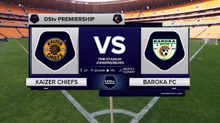 DStv Premiership | Kaizer Chiefs v Baroka FC | Highlights