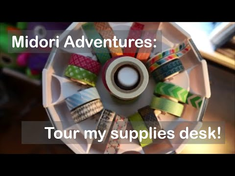 Midori Journey: The At-Home Supplies Desk