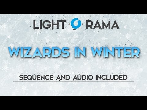 Wizards In Winter LightORama Sequence FREE DOWNLOAD 2016 Edition