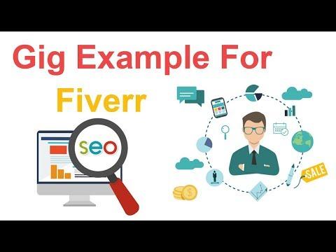 Fiverr Bangla Video Tutorial | Gig Example For Digital Marketing | SEO Students