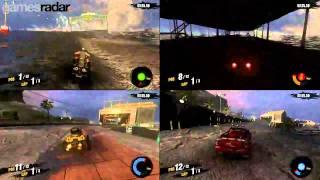 MotorStorm Apocalypse: 4-player split-screen mode