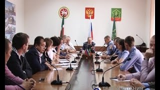 Безопасность пассажирских перевозок обсудили в исполкоме Альметьевского района