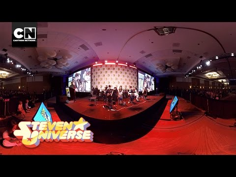 360 Video: Here Comes A Thought | Steven Universe | Cartoon Network