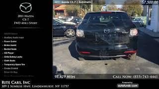 Used 2011 Mazda CX-7 | Rite Cars, Inc, Lindenhurst, NY
