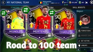 How to exchange - Packed 3 masters & 4 elites - Road to 100 team! World cup mode FIFA Mobile 18
