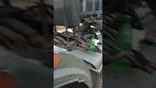 Как заменить шпильки на ступице заднего колеса в тягаче МАЗа без снятия тормозных