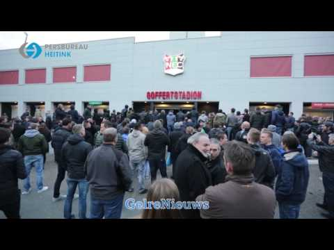 VIDEO: Bestorming NEC stadion door supporters