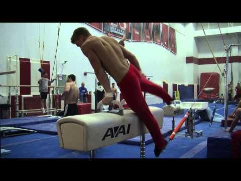 Nebraska Men's Gymnastics - Harlem Shake (Extended Cut)
